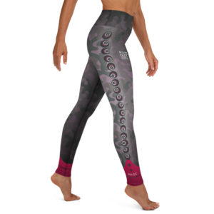 8Ball Camo Yoga Pants